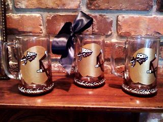Seminole Beer Mugs