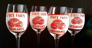 State Farm Wine Glasses