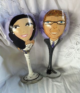 Non 3D Wedding Glasses-Eric and Sandy