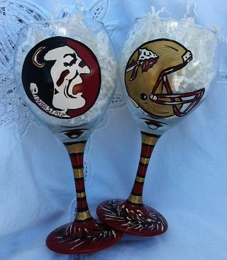 FSU Wine Glasses