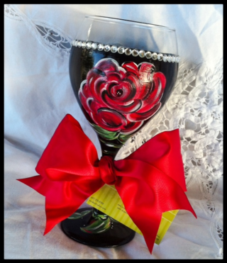 Derby wine glass